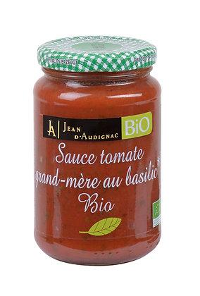 Sauce tomate grand-mère au basilic bio
