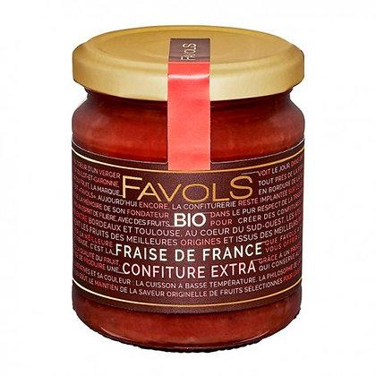 Confiture Fraise de France Bio