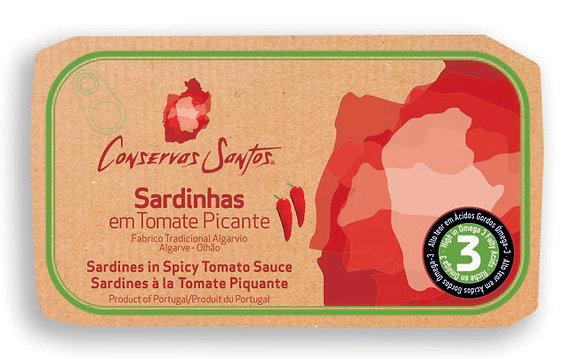 Sardines à la Tomate Piquante