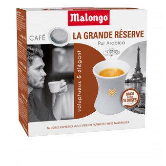 La grande réserve - Dosettes café Malongo