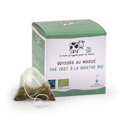 Odyssee au maroc The vert la menthe bio