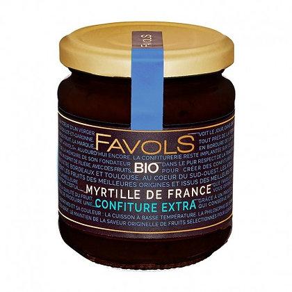 Confiture Myrtille de France Bio