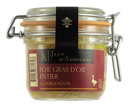 Foie gras d'oie entier au jurancon IGP