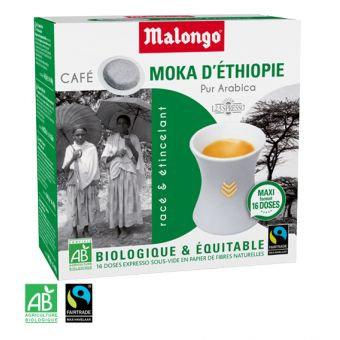 Moka d'Éthiopie - Dosettes café