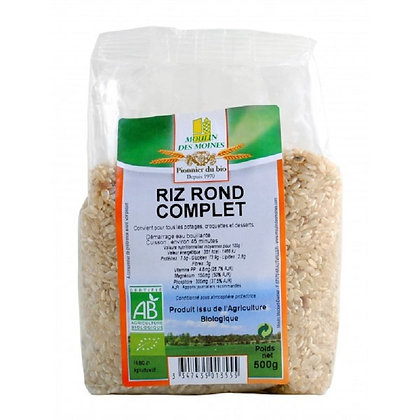 Riz rond complet