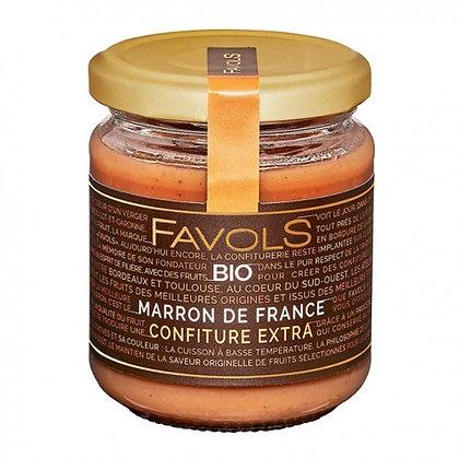 Confiture Marron de France Bio