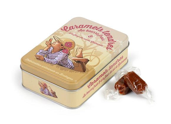 Boite metal caramel beurre sale