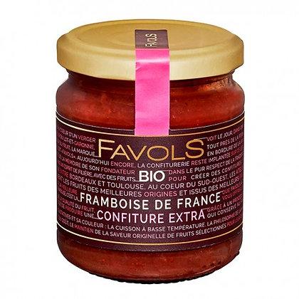 Confiture Framboise de France Bio