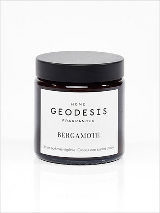 BOUGIE VÉGÉTALE 90G , Bergamote