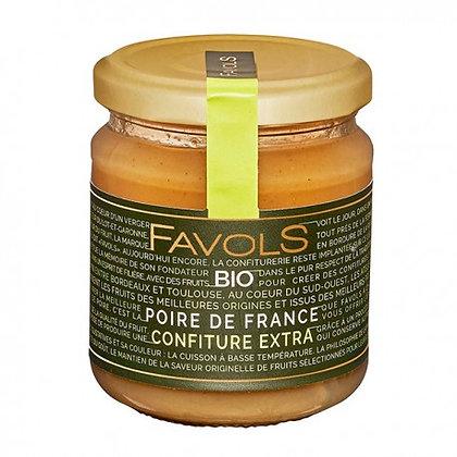 Confiture Poire de France Bio