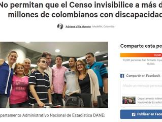 Twitteratón para inclusión de información sobre personas con discapacidad en censo 2018