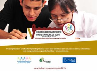 Abiertas inscripciones para el V Congreso Iberoamericano sobre Síndrome de Down
