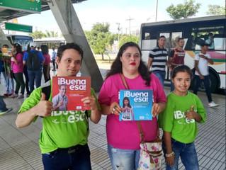 """""""Buena esa"""" Una nueva campaña de Fundown Caribe que se toma las estaciones de Transmetro"""