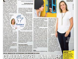 Claudia Ritzel: una mujer que lucha por la inclusión