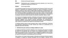 Orientaciones para la prestación del servicio educativo en el marco de la emergencia sanitaria por e