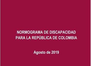 Discapacidad: todo el marco legal Colombiano en un solo lugar