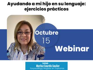 Webinar, Ayudando a mi hijo en su lenguaje: ejercicios prácticos