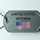 Thumbnail: Dog Tag (1) Thank you front and back lettering.
