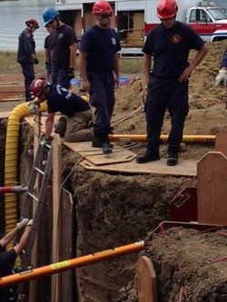 North Area Trench Rescue Training