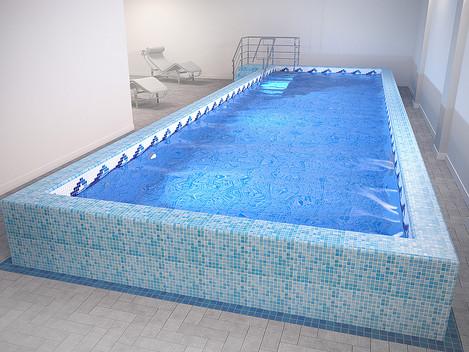 Новый проект семейного крытого бассейна в городе Сергиев-Посад