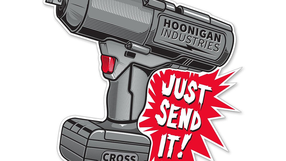 Hoonigan Impact Sticker
