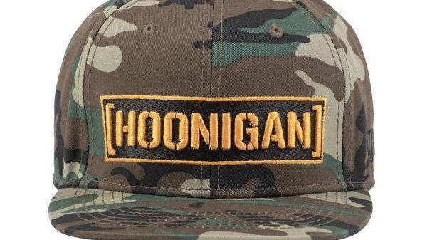Hoonigan Censor Bar Snapback Hat - Camo