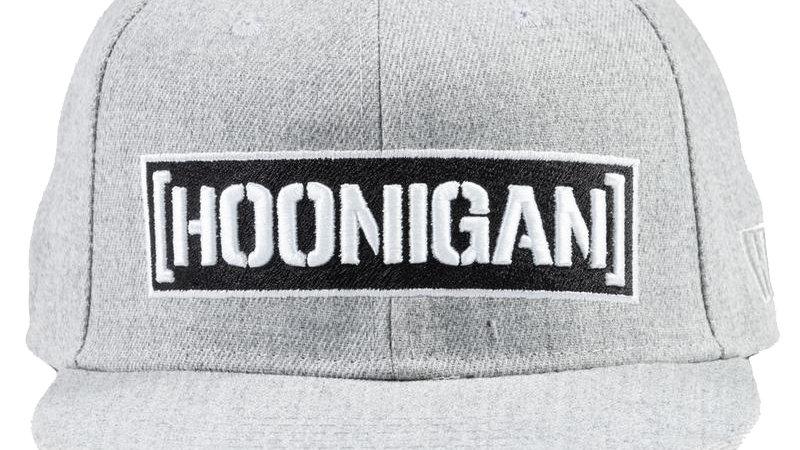 Hoonigan Censor Bar Snapback Hat - Grey