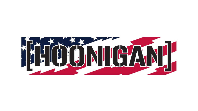 Hoonigan Stars And Stripes CBAR Sticker