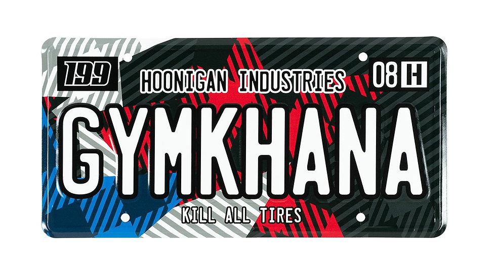 Hoonigan 199 Gymkhana Star Licence Plate