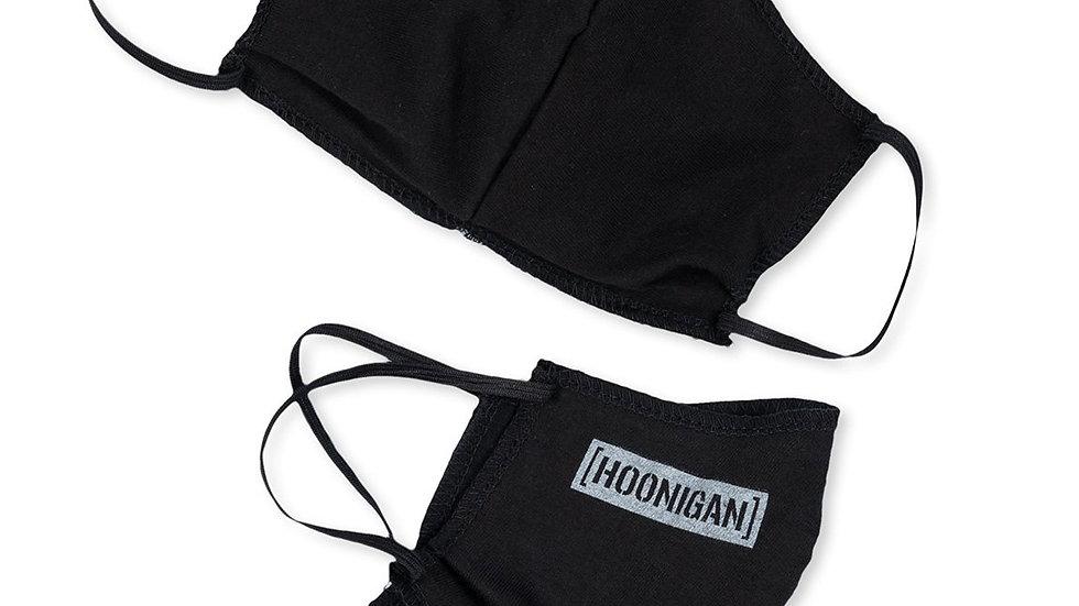 Hoonigan Small Censor Bar Face Mask - Black