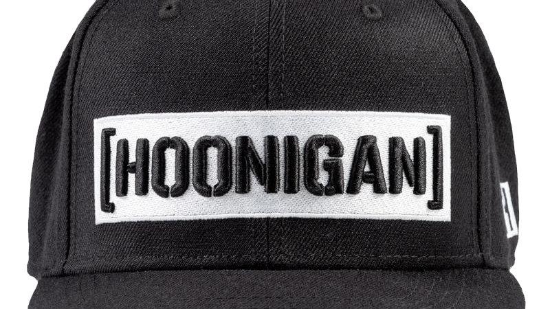 Hoonigan Censor Bar Snapback Hat - Black