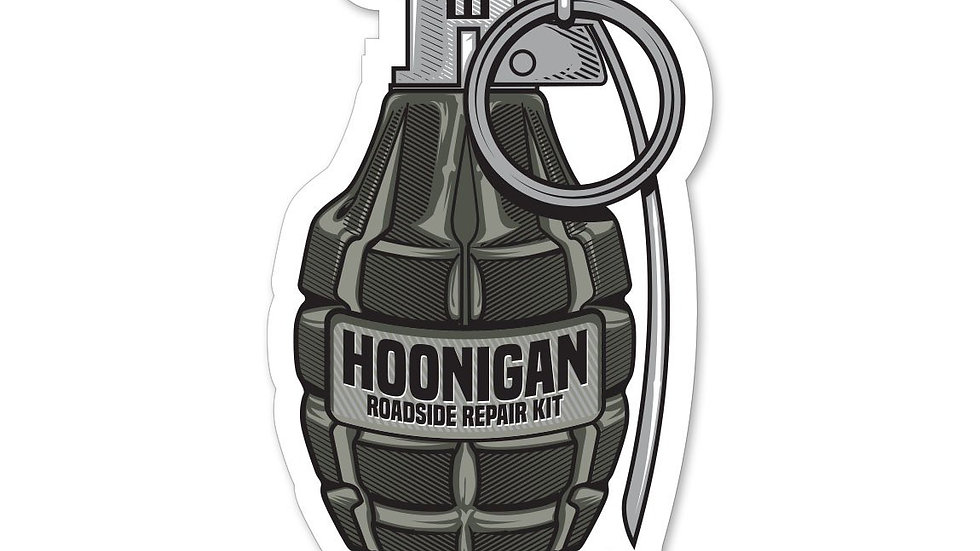 Hoonigan Roadside Repair Kit Sticker