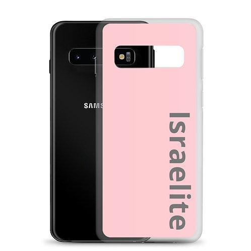 """Israelite"" Samsung Case Carnation Pink, Metal Print"