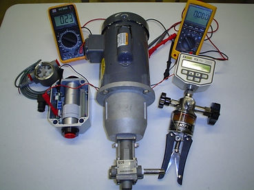Calbration of Valves, PressureTransmitters, Pressur Transducers, Temperature Controllers and Pressure Controllers