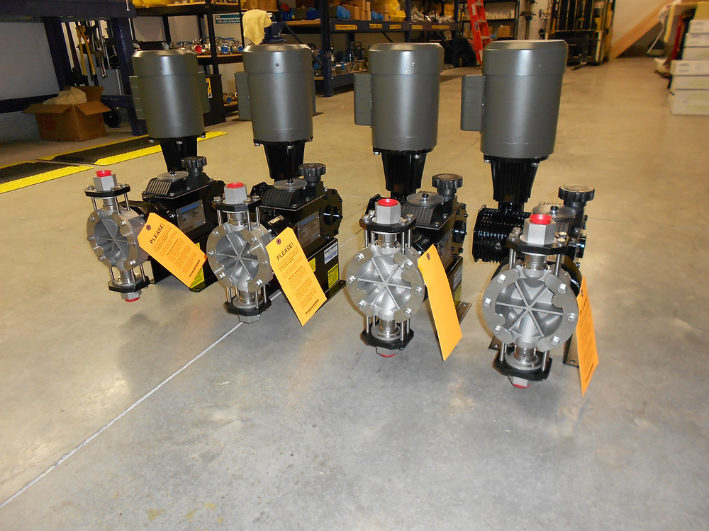 Sulphuric Acid, Chemical Injection Metering Pumps, Setpoint Technologies Inc.