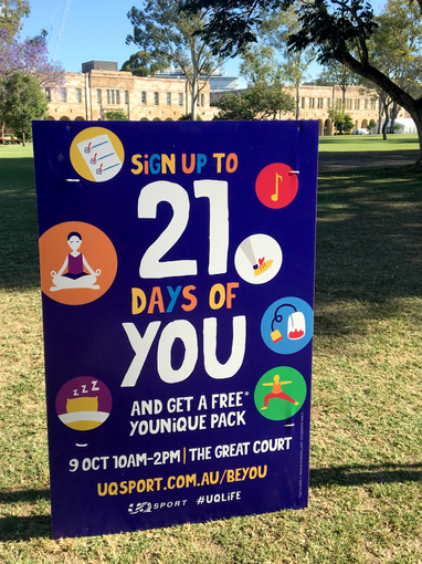 UQ Sport Mental Health Week 2019