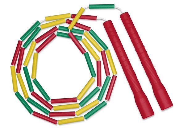 corde simple perlée longue poignée VJR/T8