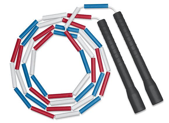 corde simple perlée longue poignée BBR/T8