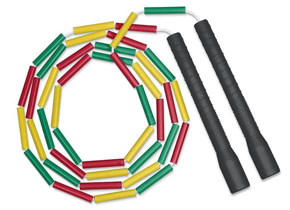 corde simple perlée longue poignée VJR/T9