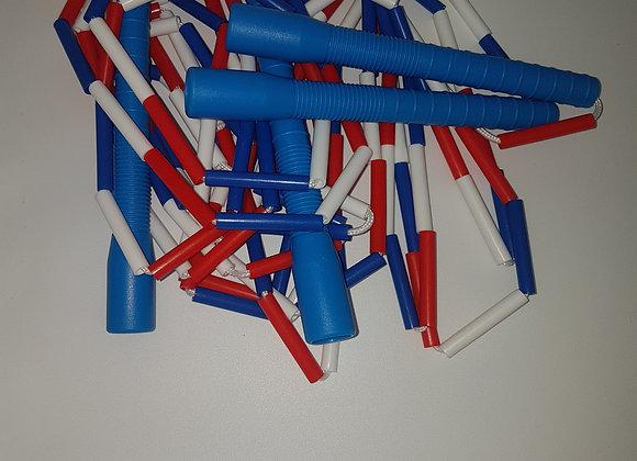 Lot de 20 Paires de corde de double dutch Simple perlées Longues Manches