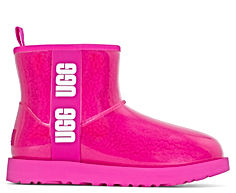 UGG® Classic Clear Mini Boot Rock Rose