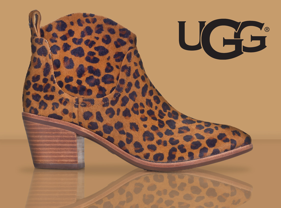 UGG Kingsburg Leopard Ankle