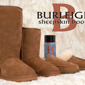 Burleigh's Quality Sheepskin Footwear: A Boot World Exclusive