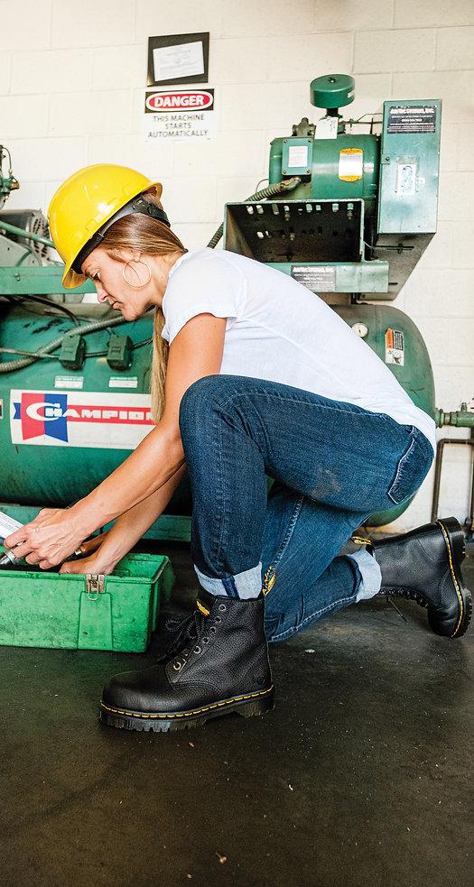 Dr. Martens Maple womens lightweight work boot