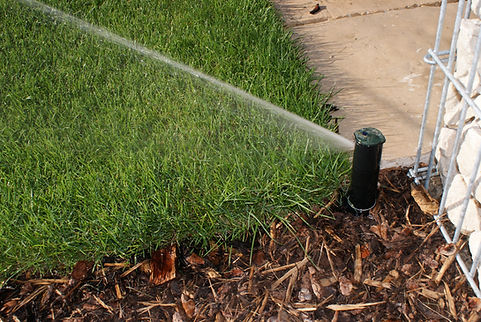 Gartenbewässerung, Beregnungsanlage