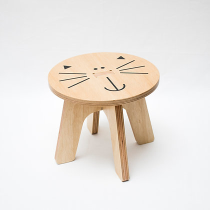 banquito Gatito  / Kitten stool / banquinho gatinho