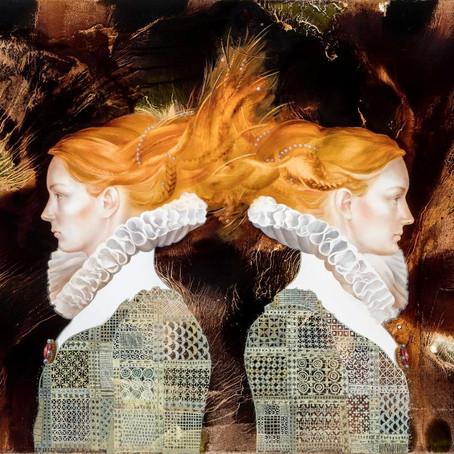 Igor Kozlovsky and Marina Sharapova: paintings