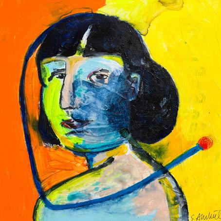 Susanne Ahrenkiel: paintings