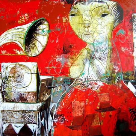 Rusudan: paintings