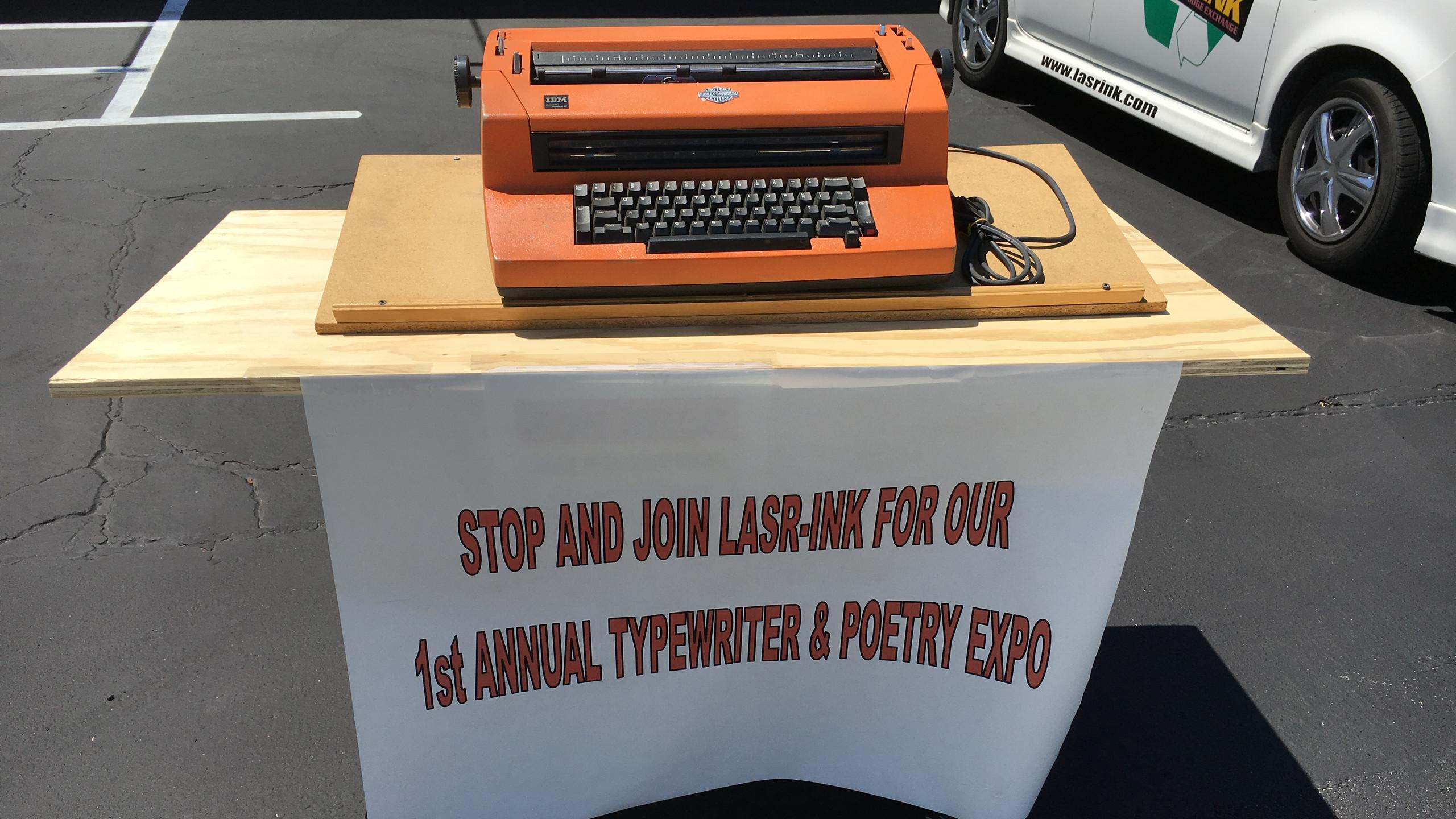 Typewriter & Poetry Expo